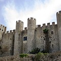 Obidos Castle IIi Portugal by John Shiron