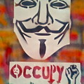 Occupy Mask by Tony B Conscious