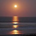 Ocean Moon In Pastels by DigiArt Diaries by Vicky B Fuller
