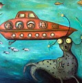 Ocean Screams by Leah Saulnier The Painting Maniac