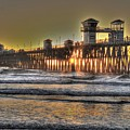 Oceanside Pier Hdr  by Bridgette Gomes
