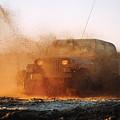 Off Road Mud Splash-2 by Steve Somerville