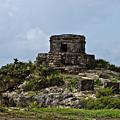 Offertories Telum Ruins Mexico by Douglas Barnett