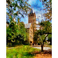 Ohio Wesleyan Chapel by Betsy Foster Breen