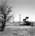 Oklahoma Oil Field by Larry Keahey