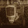Ol Yeller In Sepia by Ernie Echols