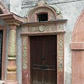 Old Austrian Door by Valerie Ornstein