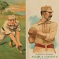 Old Baseball Cards Collage by Don Struke