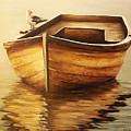 Old Boat by Natalia Tejera