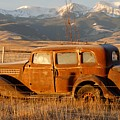 Old Car In Mountains  1 Of 75 by Joseph Cosby