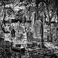 Old Cemetery In Philadelphia 1 by Val Black Russian Tourchin