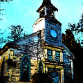 Old Church At Oxford Maryland by Bill Cannon