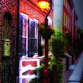 Old City Streets - Elfreth's Alley by Bill Cannon