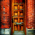 Old Door by Perry Webster