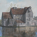 Old English Mill by Dan Bozich
