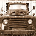 Old F1 Sepia Ford by Dennis Morgan