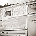 Old Hippie Peace Van by Marilyn Hunt