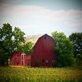 Old Indiana Barn by Joyce Kimble Smith