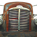 Old International Gravel Truck by Randy Harris