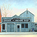 Old Machine Shop by Robert Henne