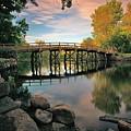 Old North Bridge by Rick Berk