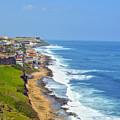 Old San Juan Coastline 3 by Stephen Anderson