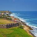 Old San Juan Coastline by Stephen Anderson