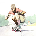 Old School Skater by Preston Shupp