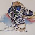 Old Shoes by Diane Ziemski