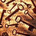 Old Skeleton Keys On Sheet Music by Garry Gay