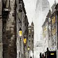 Old Street by Yuriy  Shevchuk