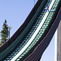 Olympic Ski Jump Training by Sherry  Curry