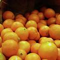 Orange Basket by Methune Hively