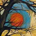 Orange Moon by Leila Atkinson