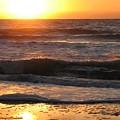 Orange Morning  by April Camenisch