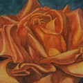 Orange Rose by Emily Young