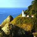 Oregan Lighthouse by Marty Koch