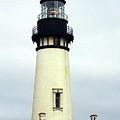 Oregon Coast Lighthouses - Yaquina Head Lighthouse by Christine Till