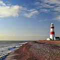 Orford Ness Lighthouse by Photo by Andrew Boxall