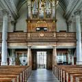 Organ At St Mary Of Aldermanbury by David Bearden