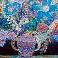 Ornately Blue by Anne-Elizabeth Whiteway