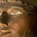 Osiris Statue Face Of Hatshepsut by Kenneth Garrett