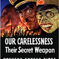 Our Carelessness - Their Secret Weapon by War Is Hell Store