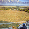 Overlooking The Grand Tetons Jackson Hole by Dustin K Ryan