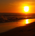 Pacific Coast Sunset by Linda Morland