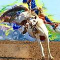 Paint Bucking Horse ... Montana Art Photo by GiselaSchneider MontanaArtist