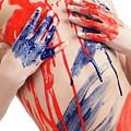 Paint On Woman Body by Oleksiy Maksymenko