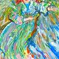 Painted Angel by Laurie Parker