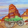 Painted Desert by Connie Valasco