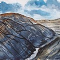 Painted Desert Landscape Mountain Desert Fine Art by Derek Mccrea